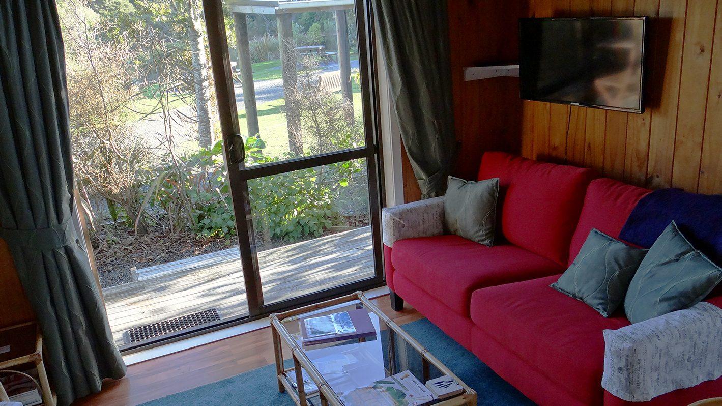 Interior of Theos Cottage